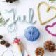 Strickliesel-Liebe: Bunte Woll-Anhänger