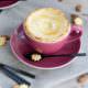 Tassenpie mit Mandel-Pudding-Füllung von den [Foodistas]