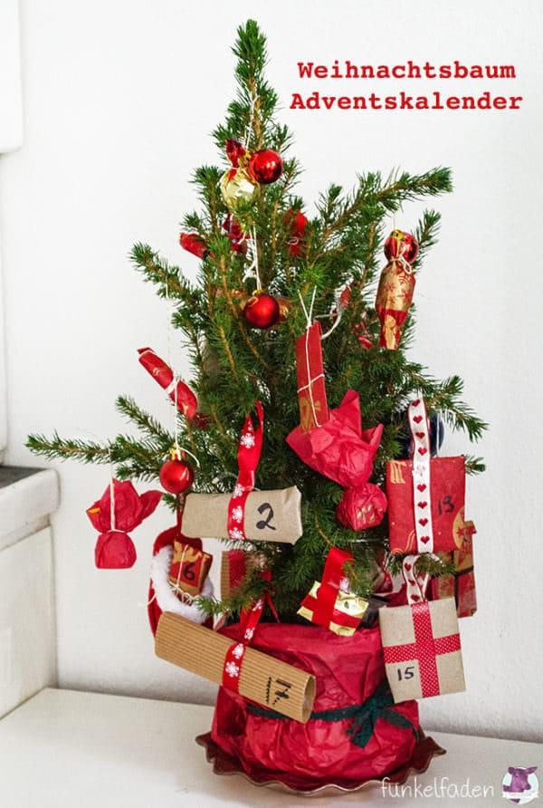 Weihnachtsbaum-Adventskalender