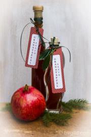 Granatapfel-Essig ? mein Geschenk aus der Küche [Birgit D]