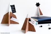 DIY 3D Tannenbaum Pinnwand