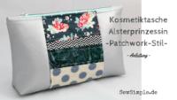 Anleitung: Kosmetiktasche im Patchwork-Look