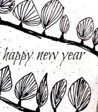 Postkarten für Neujahr