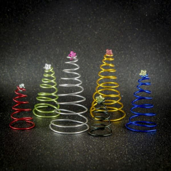 🎄 DIY Weihnachtsbaum aus Alu-Basteldraht 🎄 - HANDMADE Kultur