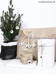 DIY weihnachtliche Anhänger aus Kronkorken