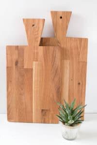 DIY Schneidebrettchen aus Holz