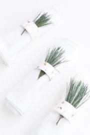 Serviettenringe aus Fimo