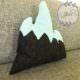 Kissen in Berg-Form nähen