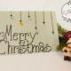 Weihnachtskarte mit Knöpfen