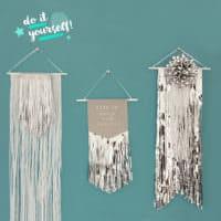 DIY / Lametta-Wimpel