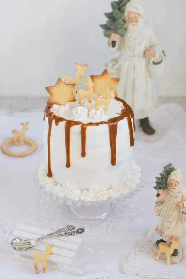 """""""Eierlikör Torte mit gebräunter Butter, Safran, Karamell und viel Liebe!"""""""