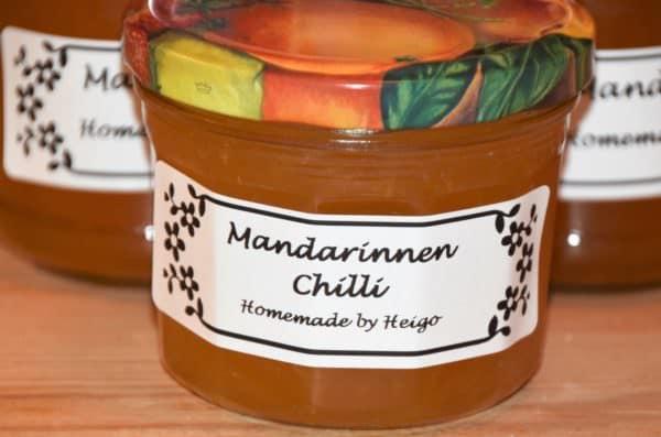 Chilli Mandarinen Konfi