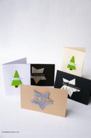 Grußkarten für Weihnachten selber machen
