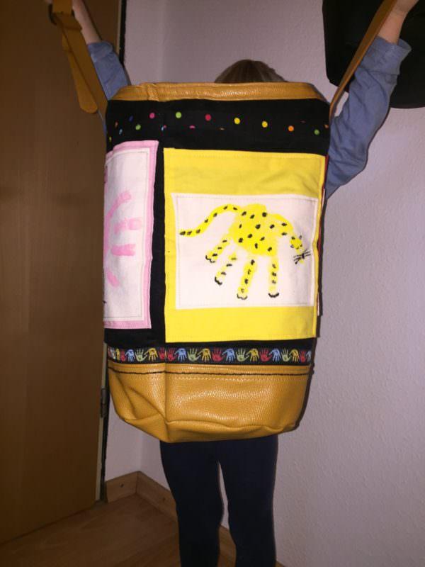 #prymcontest Matchbag mit Handabdrücken