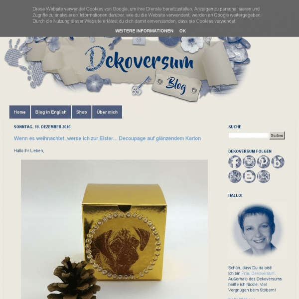 Dekoversum: Deko | DIY | Decoupage