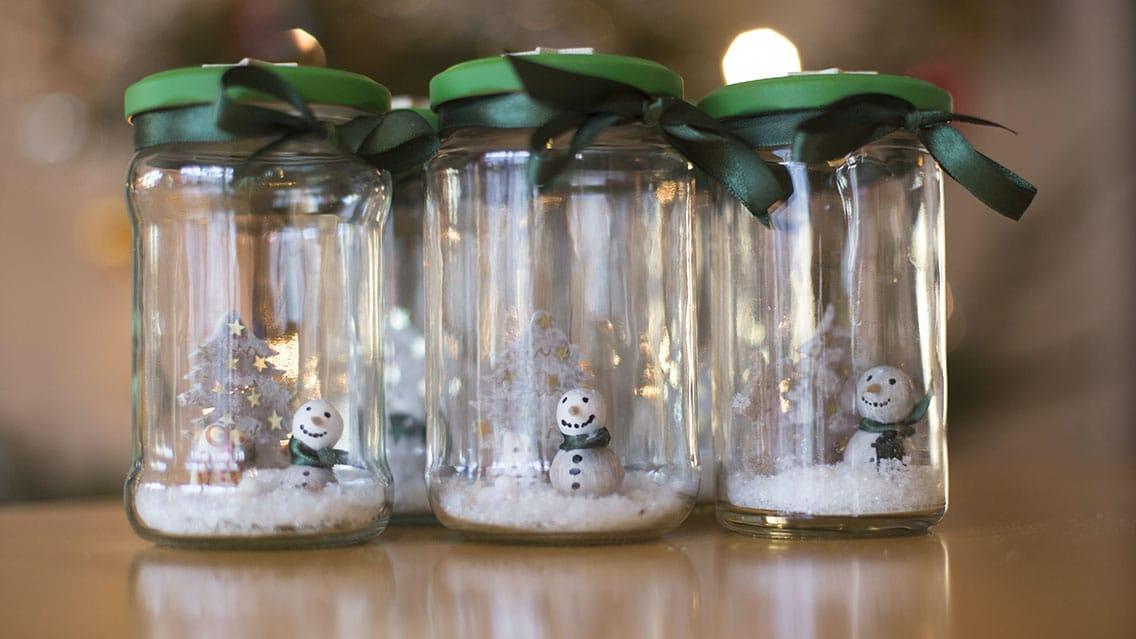 Winter Wonderland Im Weckglas Handmade Kultur