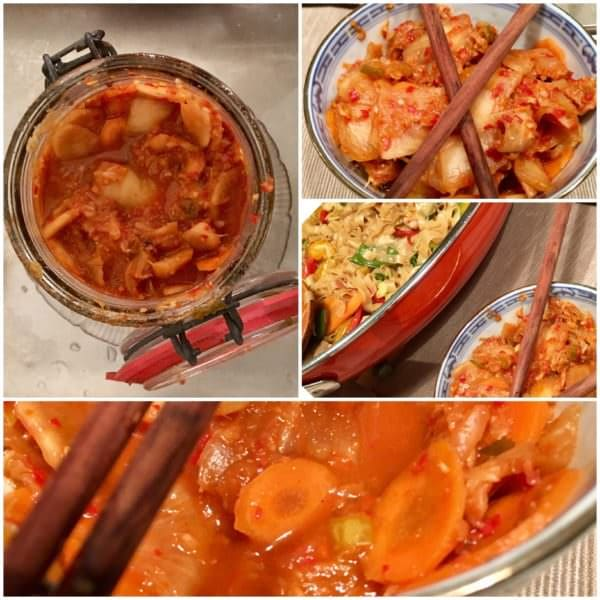 Sauerkraut auf koreanisch: Kimchi