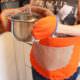 Tutorial Küchenschürze und Topfhandschuhe - kostenlose Anleitung und Schnittmuster