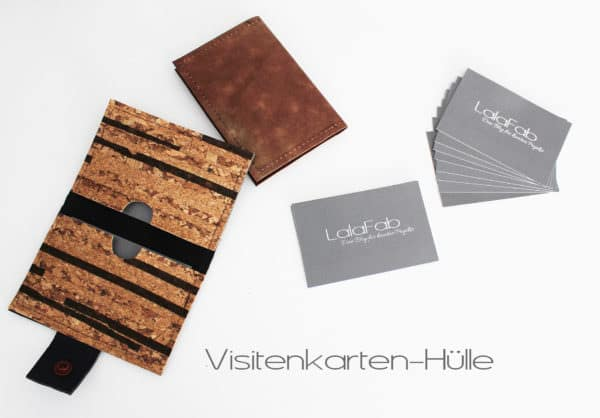 Mini Diy Visitenkarten Hülle Nähen Handmade Kultur