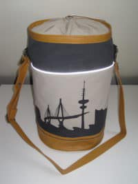 #prymcontest Matchbag mit Hamburg Skyline