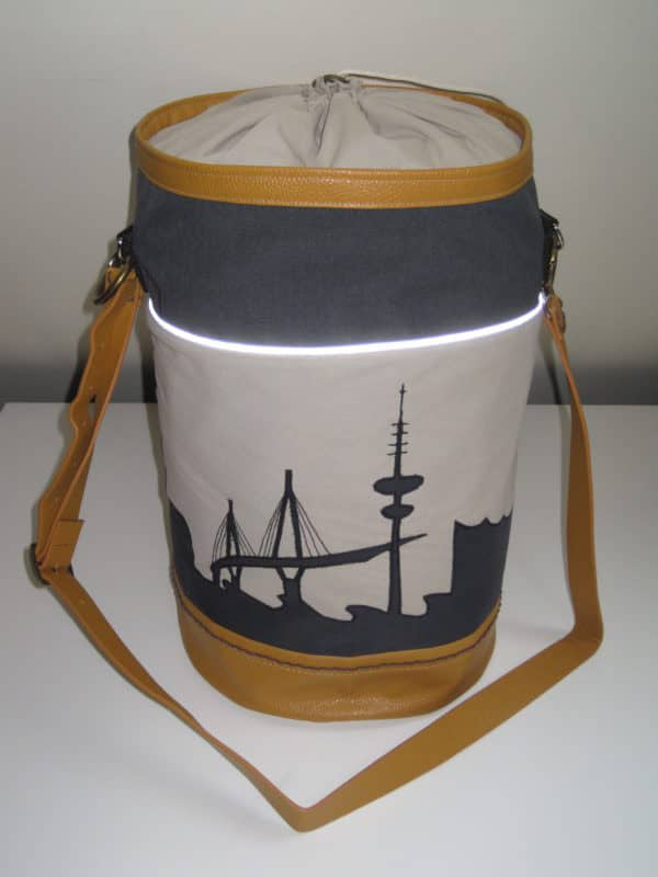 #prymcontest Matchbag mit Hamburg Skyline