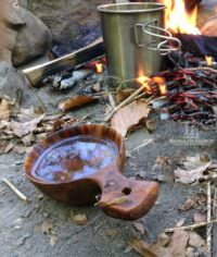 Deine eigene Kuksa - Holztasse schnitzen
