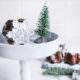 Lebkuchen Brownies: zartschmelzend schokoladige Schneeflocken | Mohntage