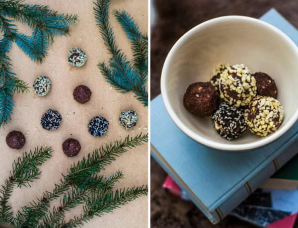 HAPPY-NUTS-MAS – weihnachtliche Rohkostbällchen mit Lebkuchengeschmack
