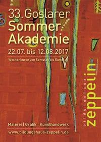 33. Goslarer Sommer Akademie