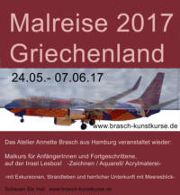 Malkurs und Urlaub Griechenland 2017