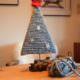Weihnachtbaum aus Wolle