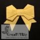 Origami-Schleife