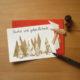 """""""Nach""""-Weihnachtskarten basteln"""
