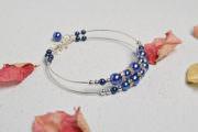 Blaues Armband als Weihnachtensgeschenk