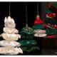 Weihnachtliche Deko Idee Tannenbäume aus Yoyo`s