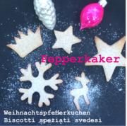 Weihnachtspfefferkuchen Pepperkaker