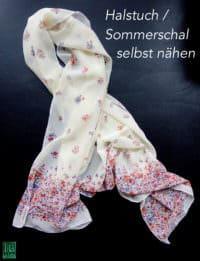 Seidentuch / Chiffontuch nähen - Geschenkidee
