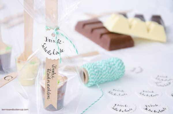 Ombré-Trinkschokolade selber machen