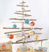 Weihnachtsbaum selber basteln 13 diy anleitungen und ideen handmade kultur - Weihnachtsbaum aus holz selber bauen ...