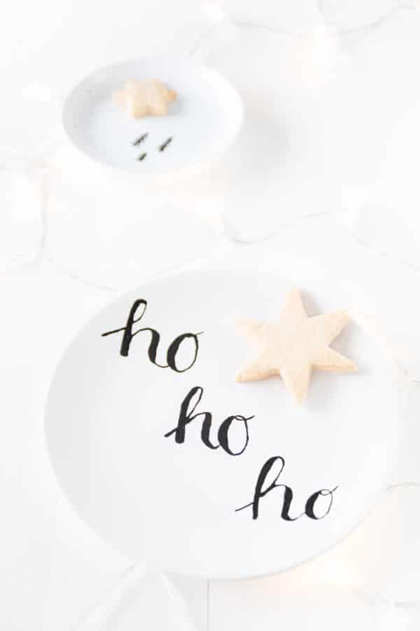 DIY Weihnachtsgeschirr