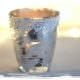 Windlicht Glas basteln - Bauernsilber