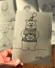 FREEBIE - Der Bär hat seine Freunde aus dem Winterwald mitgebracht