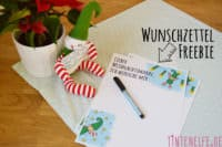 Free Prinable Wunschzettel
