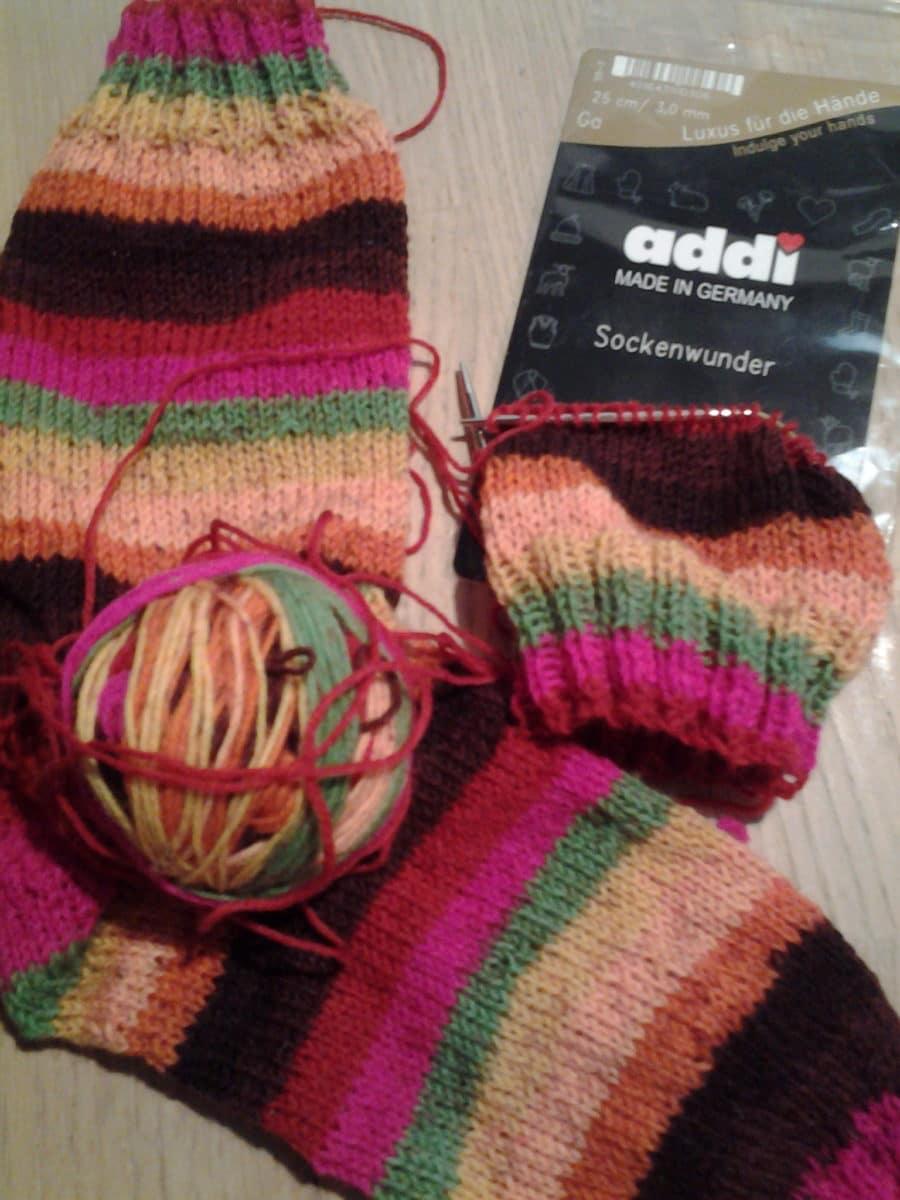 Stinos mit dem Addi Sockenwunder