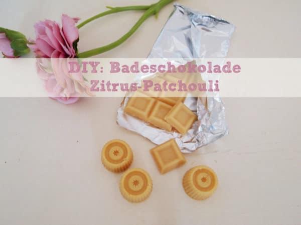 Badeschokolade Zitrus-Patchouli