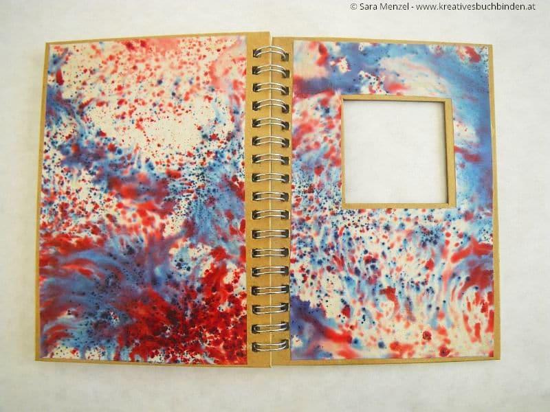 Notizbuch Mit Schmuckpapier Verschonern Handmade Kultur