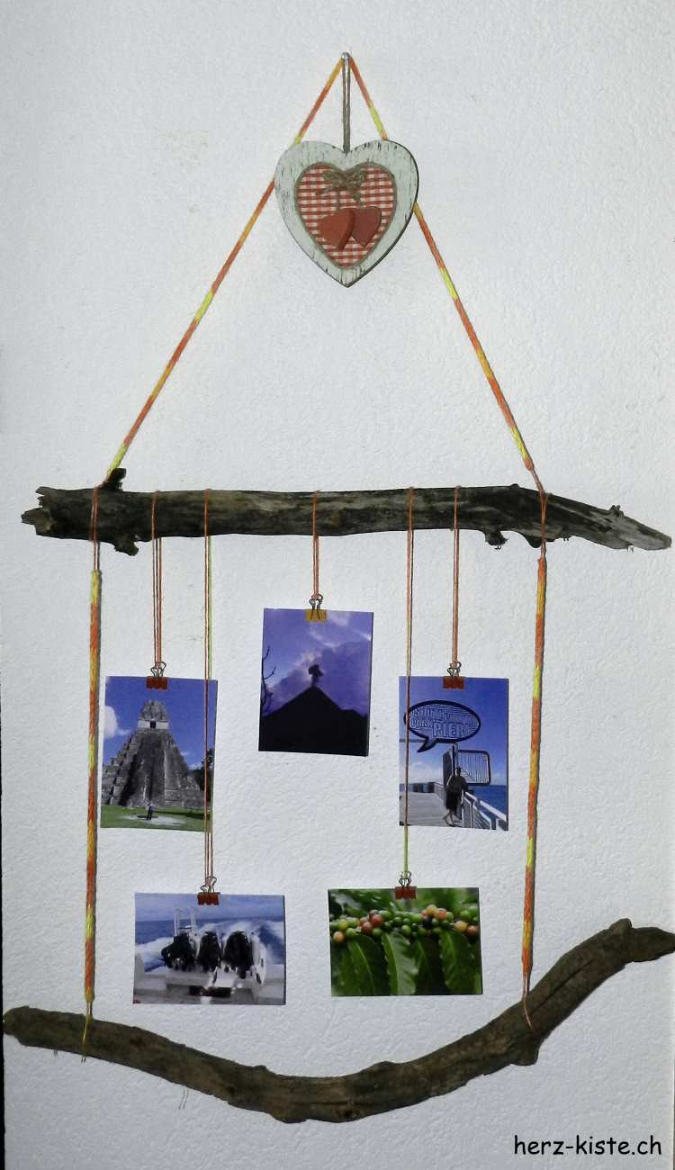 DIY Bilderrahmen aus Ästen - HANDMADE Kultur