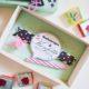 kleine Schachtel mit süßer Botschaft zum Nachbasteln DIY