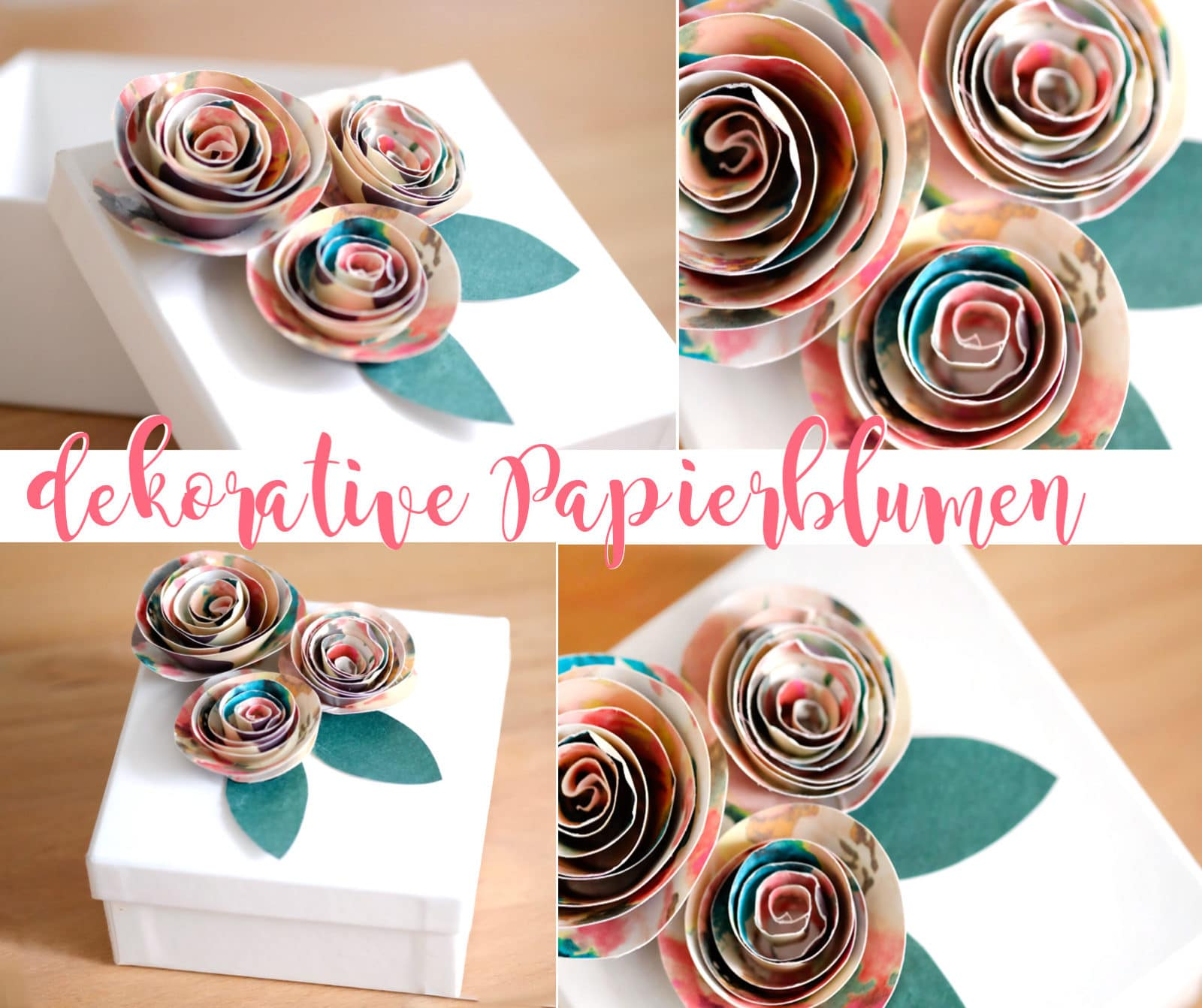 Blumen Aus Papier Handmade Kultur
