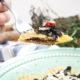 Dinkel Ravioli mit mediterraner Pilzfüllung in Salbei-Knoblauchbutter | vegetarisches Valentinstagsmenü | Mohntage